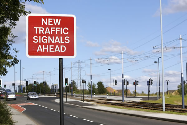 Installation of Signals on Street, Final Adjustments, Ongoing Monitoring